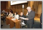 Eng. Carlão Secretariando na Posse da Nova Diretoria e Conselheiros do CREA-SP