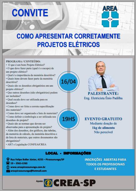palestra-projetos-eletricos-crea-sp