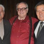 Eng. Carlão, Dr. Plinio Thomaz e Presi. Crea Kurimori