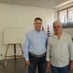 Engenheiro José Lineu Bassói e o Presidente da AREA Engenheiro Antonio Carlos Bueno Gonçalves
