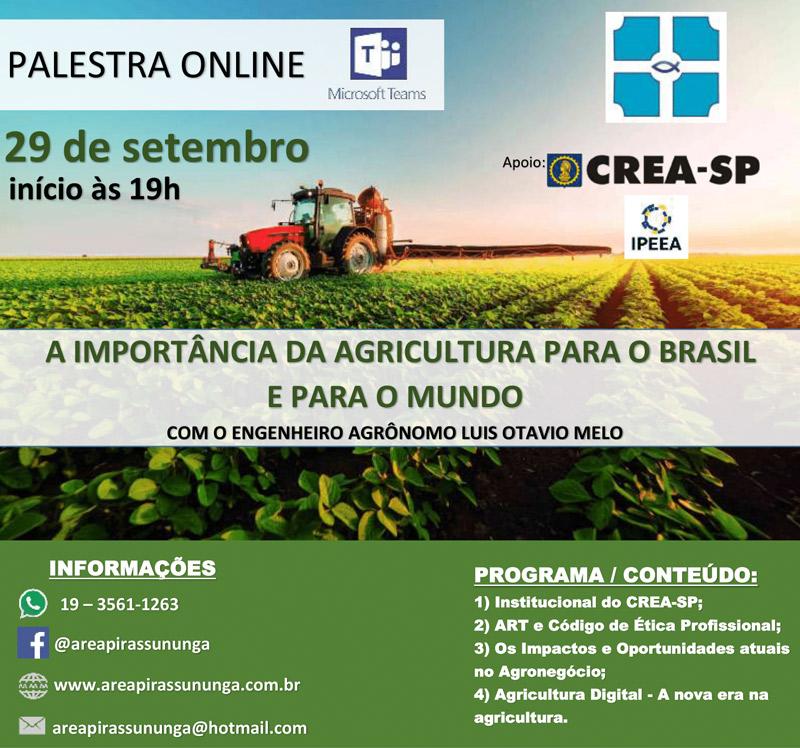 palestra-area-pirassununga-importancia-agricultura
